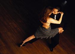 ca. 2001 --- Tango Dancers --- Image by © Royalty-Free/Corbis