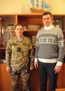 Зосименко Ігор разом з Михайлом Линецьким
