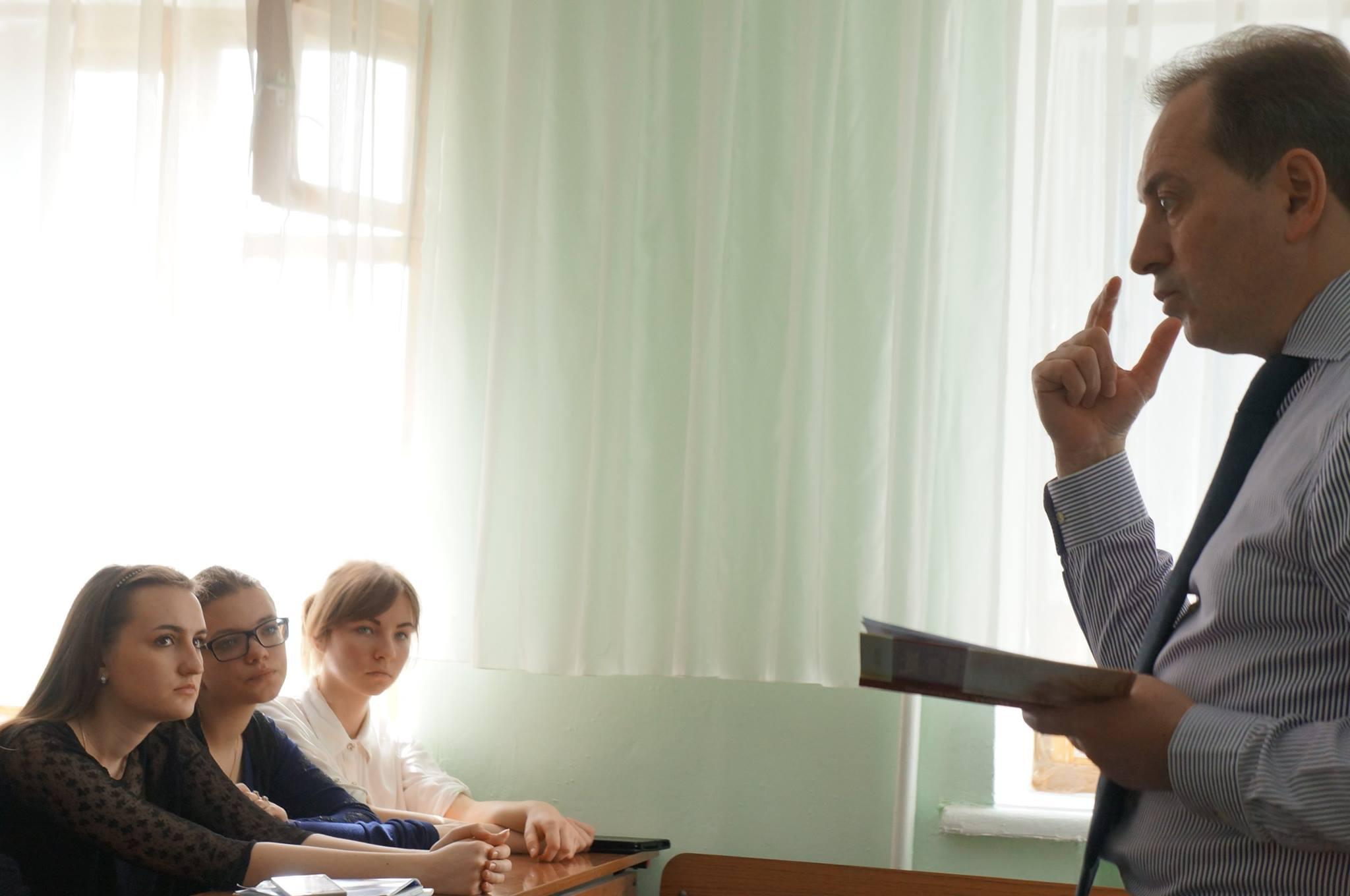 Зустріч зі студентами-істориками та викладачами ХДУ