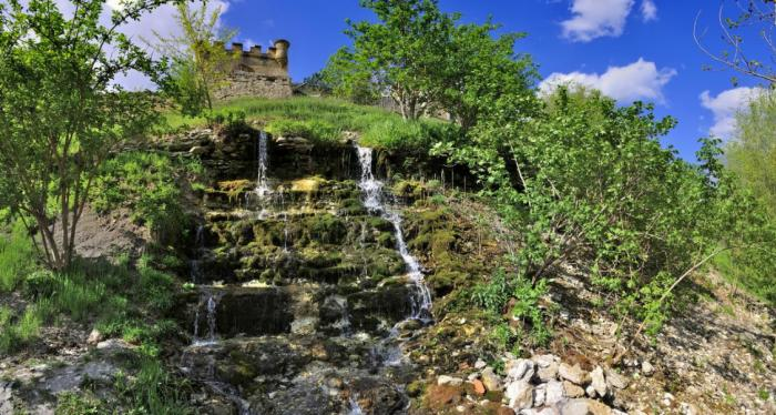 Картинки по запросу водопады и руины трубецкого