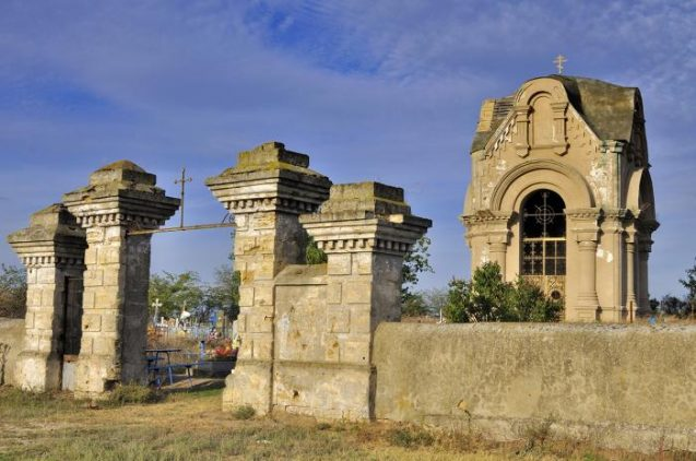 Братська могила героїв Кримської війни 1853-1856 р. Фото з wikimapia.org